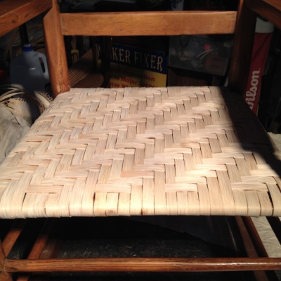 Splint chair seat