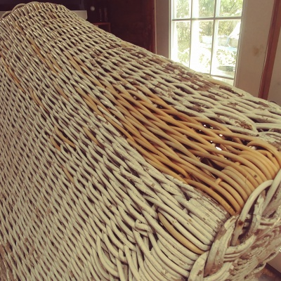 wicker daybed during 4
