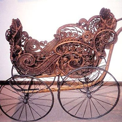 Victorian buggy after